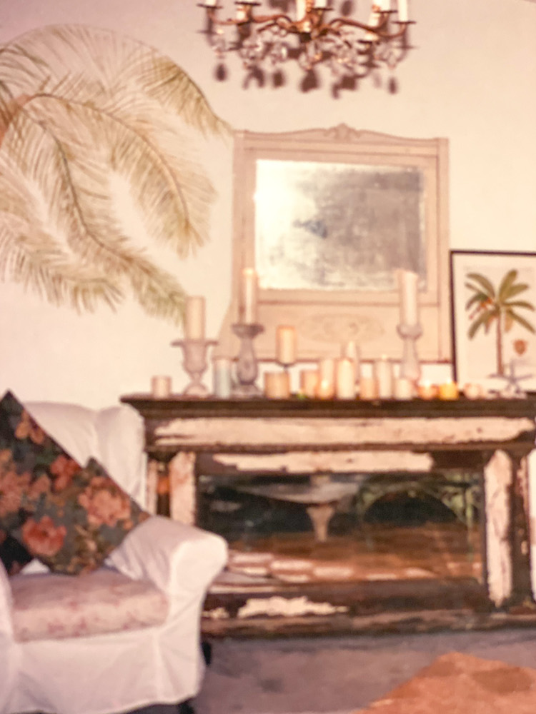 This is the old gal in 1989; she's in my guest house now and looks just fabulous.